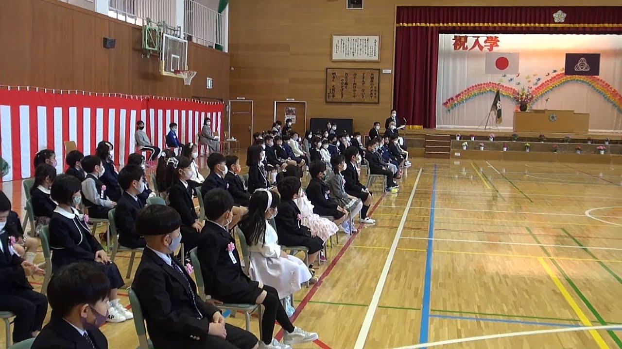 マイタウンニュース『大曲東小学校入学式』(2021.4)